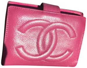 Chanel Aithentic chanel caviar bifold wallet