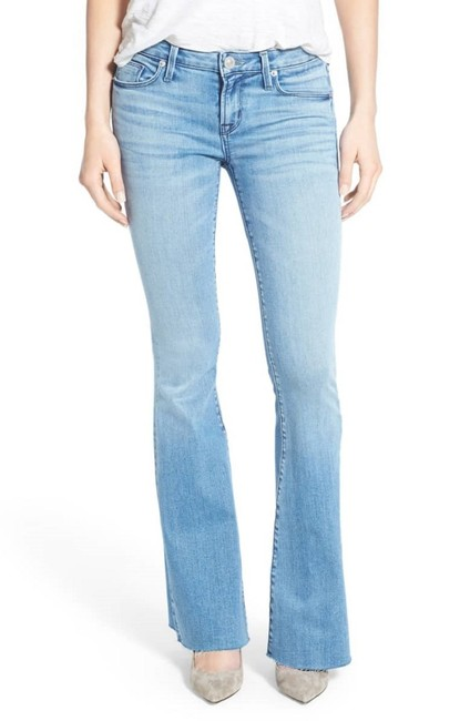 Item - Altair Blue Light Wash Mia Barefoot Flare Leg Jeans Size 24 (0, XS)