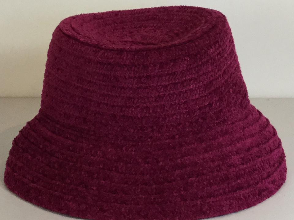 e9e2c7cc0 Betmar Magenta Red Purple Bucket Knit with Logo Hat