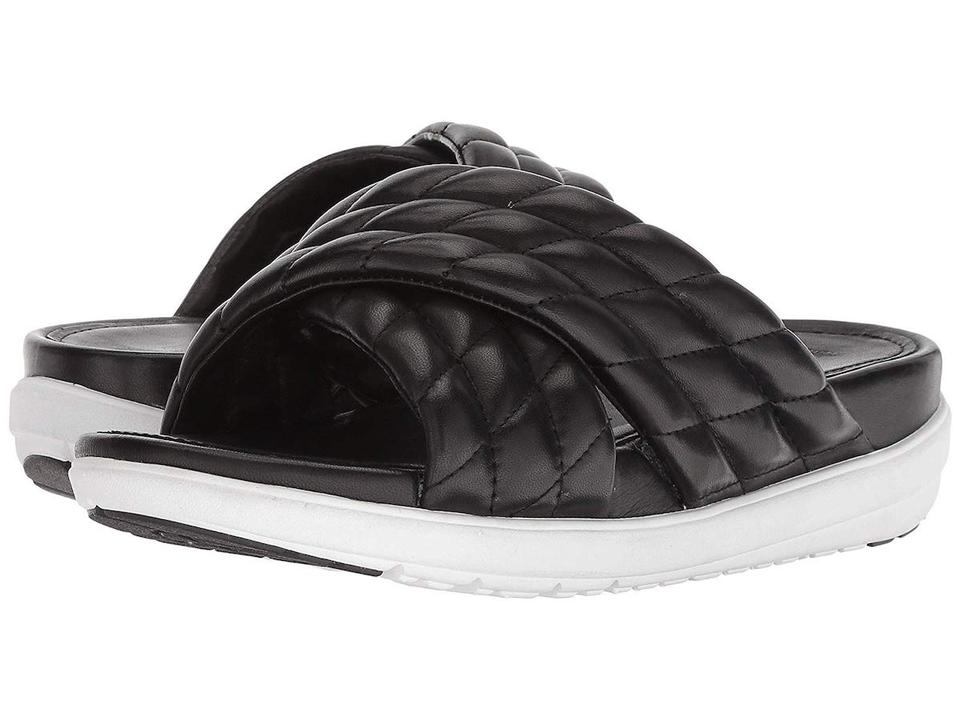 6a8e85569c3b76 FitFlop Black Loosh Luxe Sandals Size US 7 Regular (M