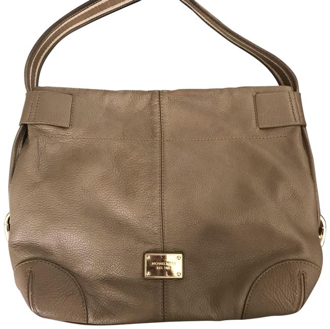 Item - Taupe Leather Hobo Bag