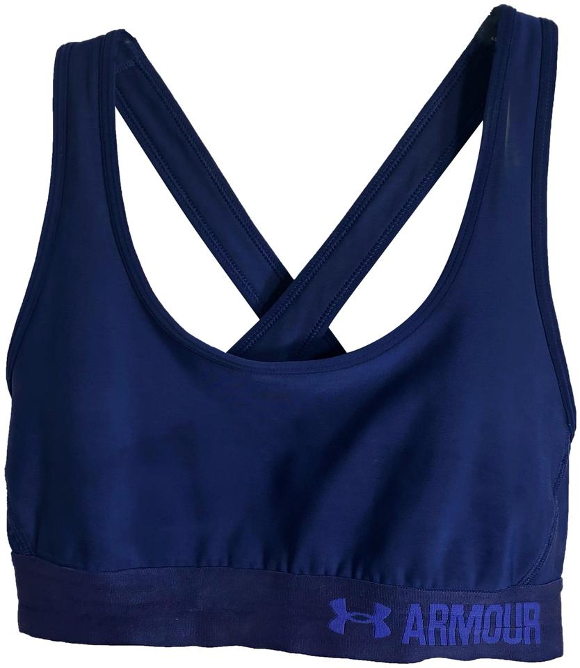 df4e87170d87c Under Armour Purple Criss Activewear Sports Bra Size 6 (S) - Tradesy