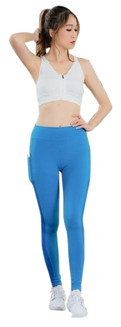 Item - Blue With Pocket Activewear Bottoms Size 2 (XS, 26)
