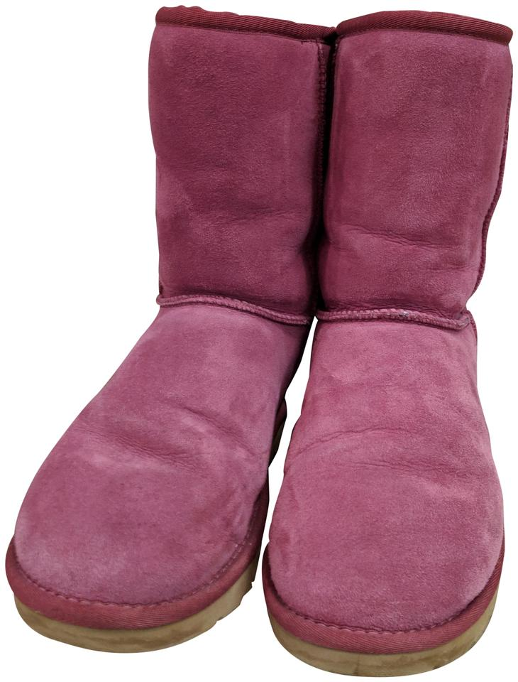 5cbc9bf1cb8 UGG Australia Pink Classic Short Boots/Booties Size US 9 Regular (M, B) 61%  off retail