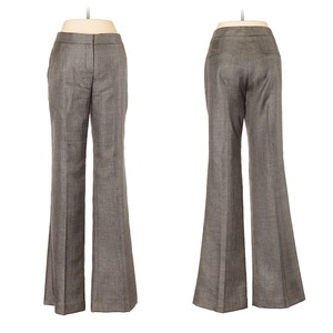Theory Boot Cut Pants brown grey
