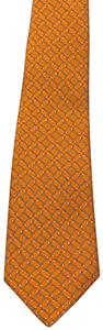 Salvatore Ferragamo Silk Golf Club Pattern Tie