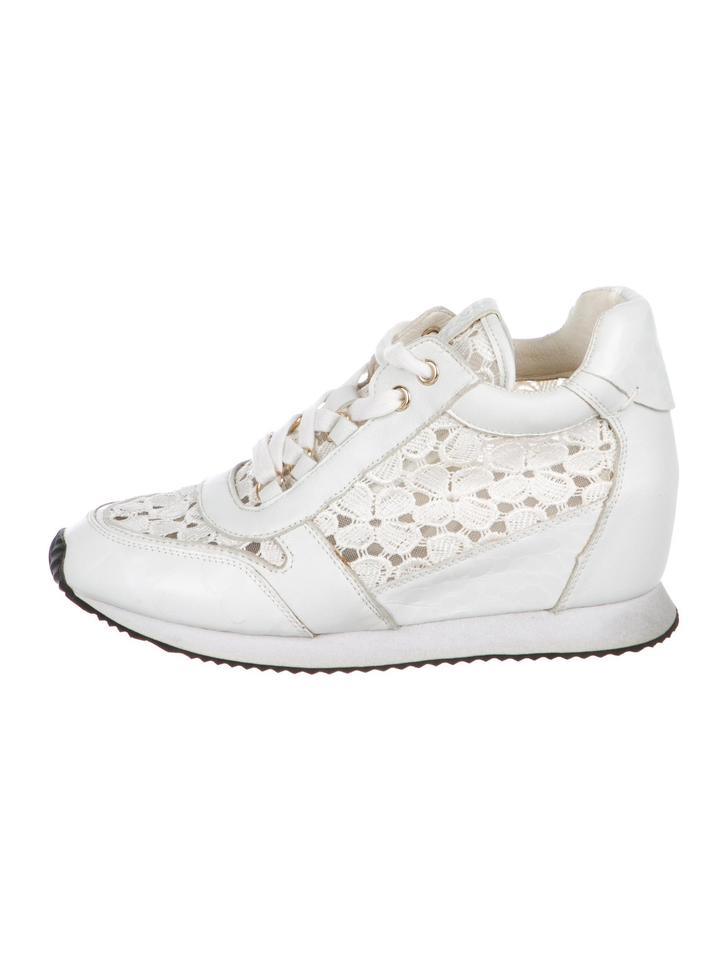 cc20b30967bb Ash White Dream Embossed Hidden Wedge Sneakers Sneakers Size US 8 ...