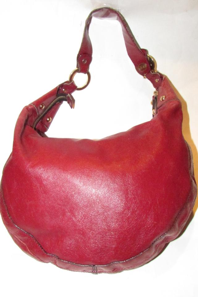 21f2c25490f Fendi Shoulder Leather/Gold Excellent Condition 'chef' Chic Edgy Look Hobo  Bag Image. 123456789101112