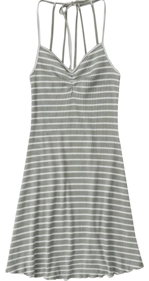530816c486 Abercrombie & Fitch Olive Green Mini Knit Short Casual Dress Size 0 ...