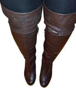 Ros Hommerson Thigh High Over The Knee Extra Wide Confortable Brown Boots