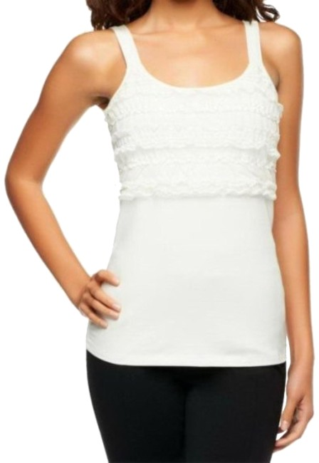 Kathleen Kirkwood Stretch Cotton Tank With Blouse Size 10 (M) Kathleen Kirkwood Stretch Cotton Tank With Blouse Size 10 (M) Image 1