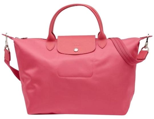Longchamp Tote in Pink Image 0