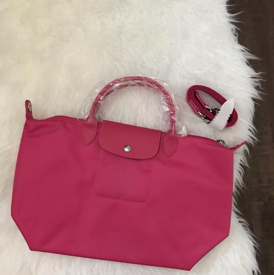 Longchamp Tote in Pink Image 2
