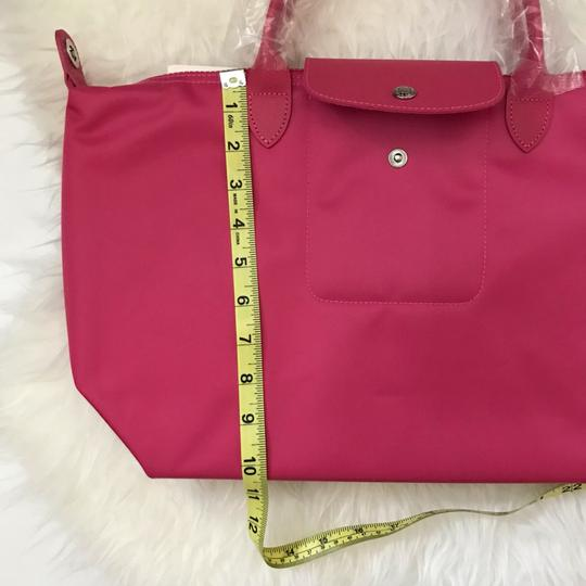 Longchamp Tote in Pink Image 5