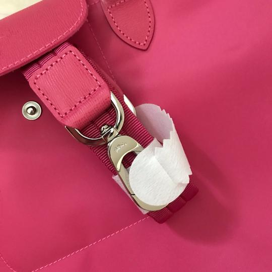 Longchamp Tote in Pink Image 8