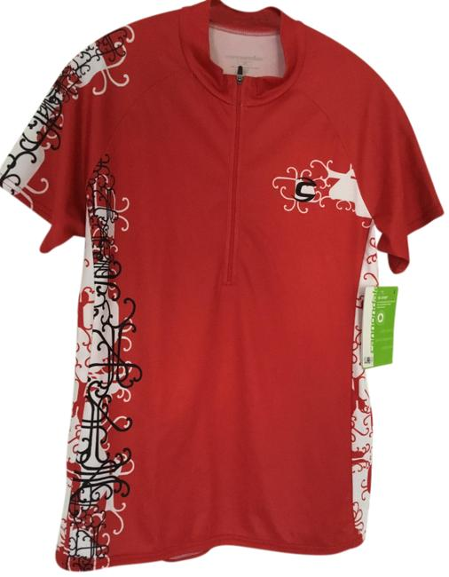Item - Red Jersey Nwt. New Burst Bike Activewear Top Size 12 (L)