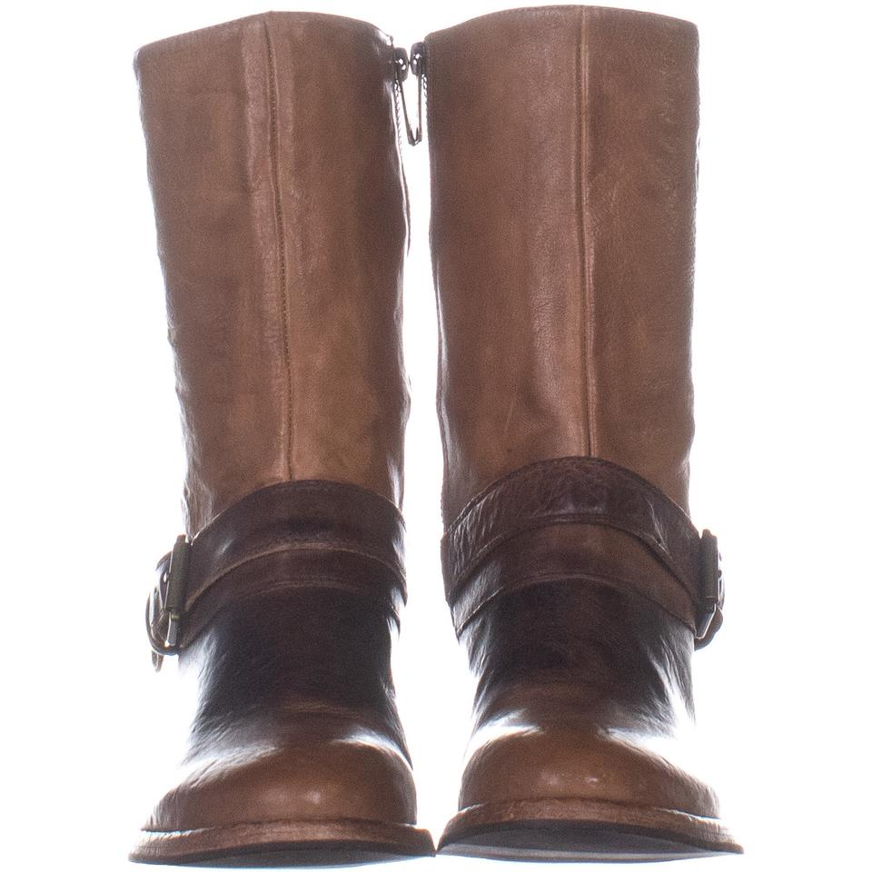 b225840ee58 Tommy Hilfiger Brown Deeanne Knee High Block 450 Medium Le Boots Booties