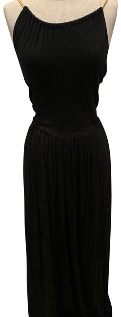 Item - Black. Royal Blue 2 Long Casual Maxi Dress Size 6 (S)