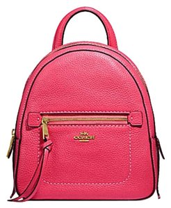 861a988f7698 Pink Coach Backpacks - Up to 90% off at Tradesy