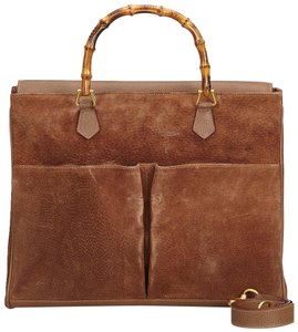 Gucci 9agust004 Satchel in Brown
