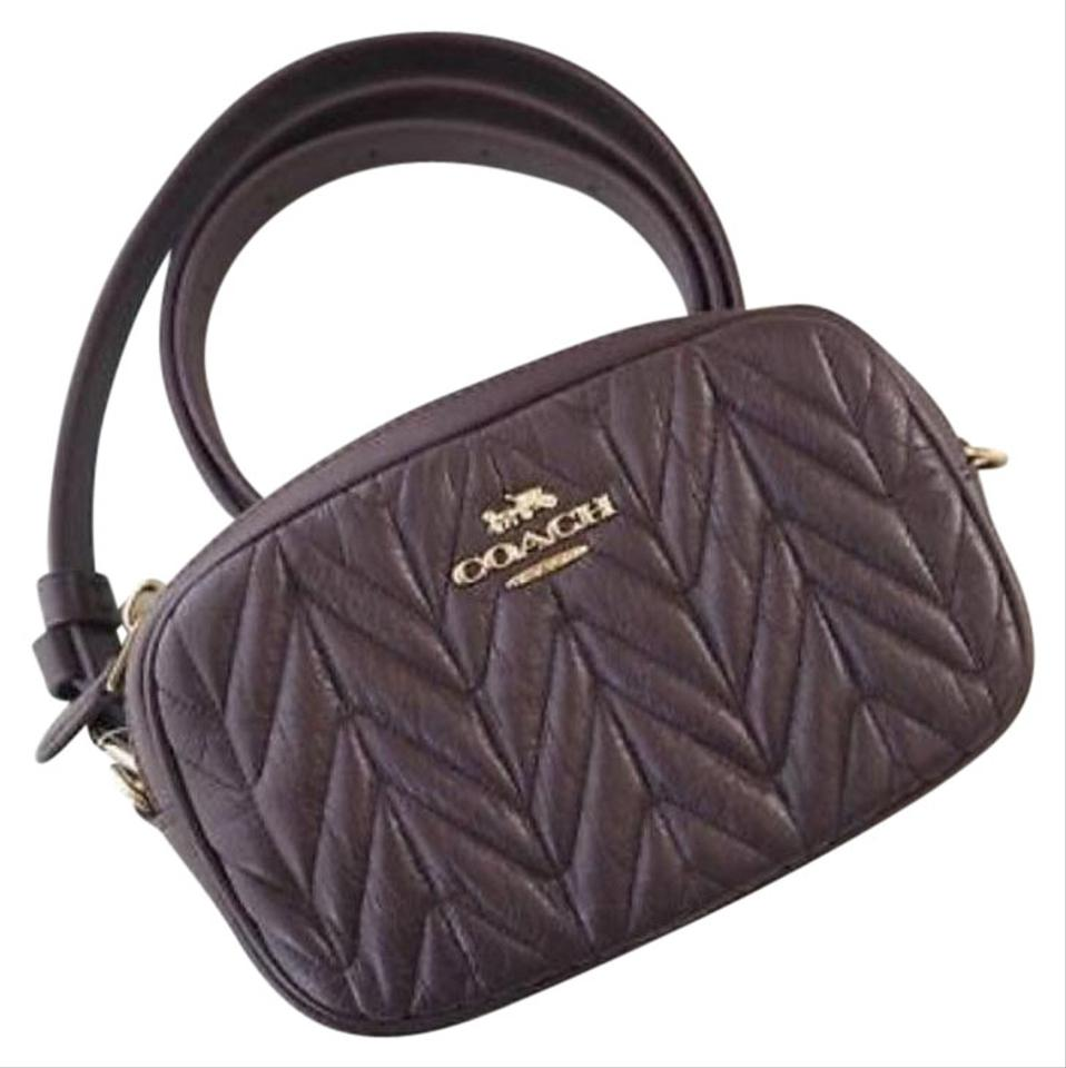 b02b391540e9 Coach COACH Fanny pack CONVERTIBLE BELT BAG WITH QUILTING F38678 Image 0 ...