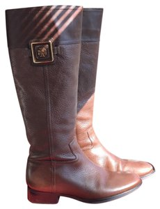 Tory Burch Fig Brown Boots