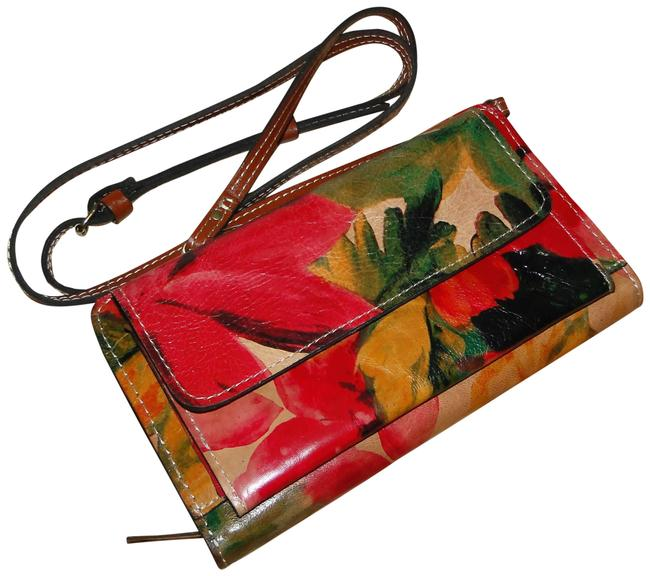 Item - Azario Spring Multi Leather Cross Body Bag