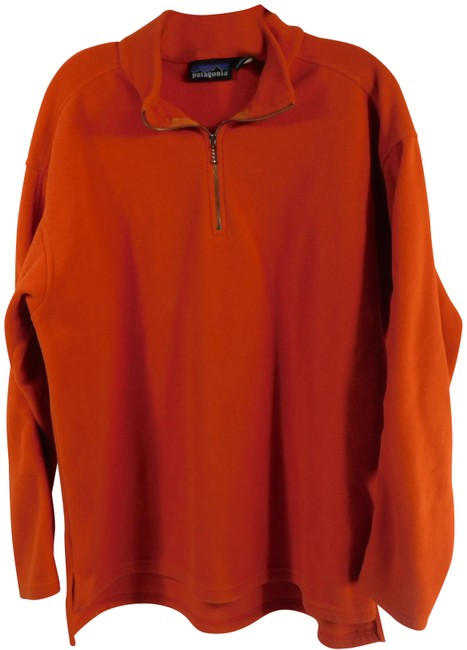 Item - Orange Capilene Fleece Jacket Size 14 (L)