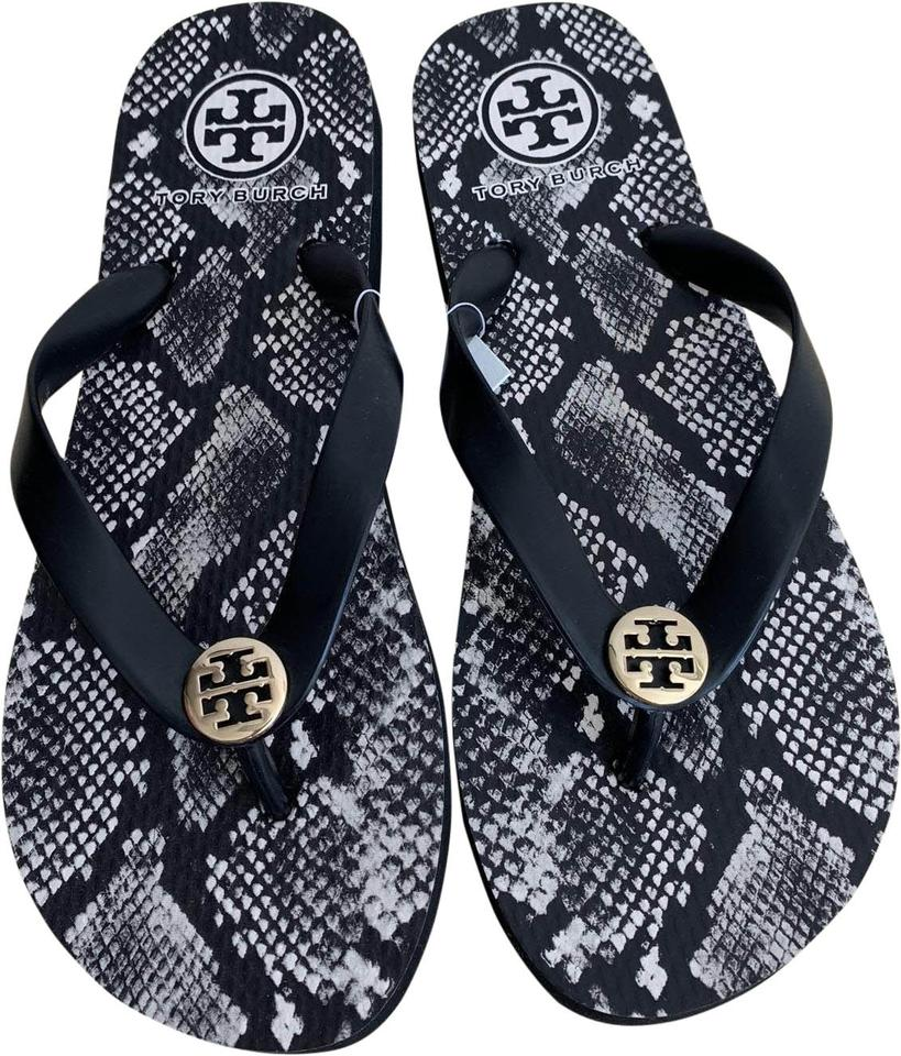 8db4ece305b Tory Burch Multicolor Roccia Flip Flops Sandals. Size  US 5 Regular (M ...