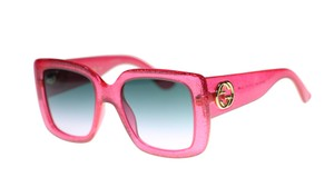 2f55dca86967b Gucci Gucci Women s GG0141S 003 Pink Grey Gradient Lens Square