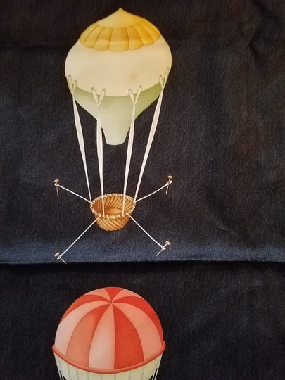 BVLGARI BVLGARI Hot air balloon Silk scarf/ shawl