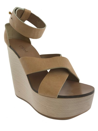 Preload https://img-static.tradesy.com/item/24796960/chloe-60th-anniversary-heritage-wooden-sandal-wedges-size-eu-395-approx-us-95-regular-m-b-0-0-540-540.jpg