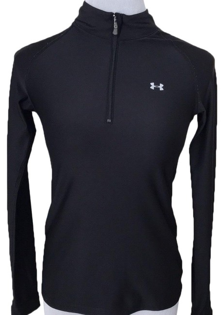 Preload https://img-static.tradesy.com/item/24796966/under-armour-black-and-gray-14-zip-activewear-top-size-4-s-0-1-650-650.jpg