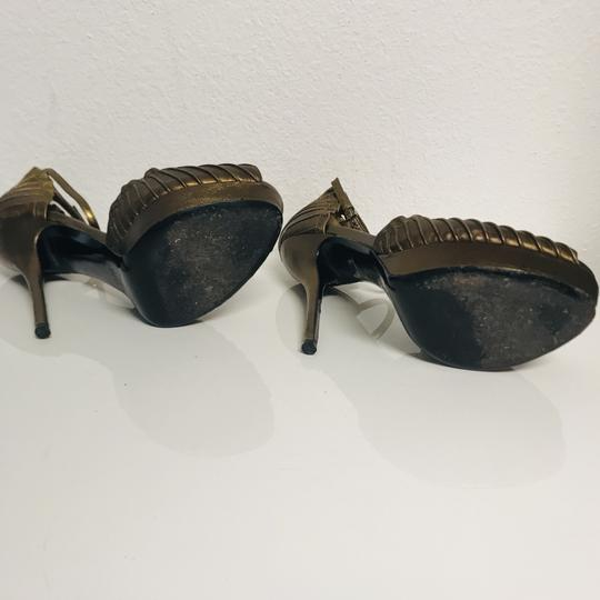 Gucci Musthave Trend Bronce Platforms