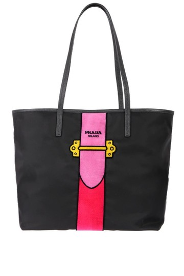 Preload https://img-static.tradesy.com/item/24797016/prada-womens-tessuto-ricamo-shopping-shoulder-bg065-black-nylon-tote-0-0-540-540.jpg