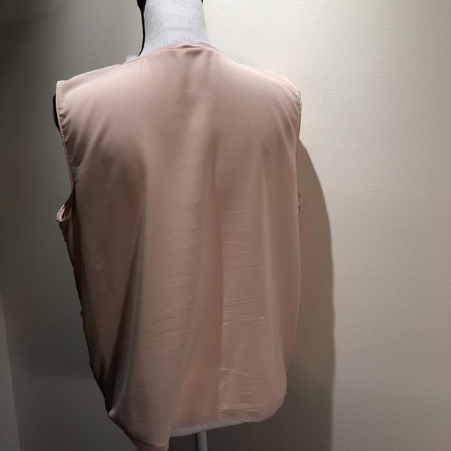 T Tahari Top Peach