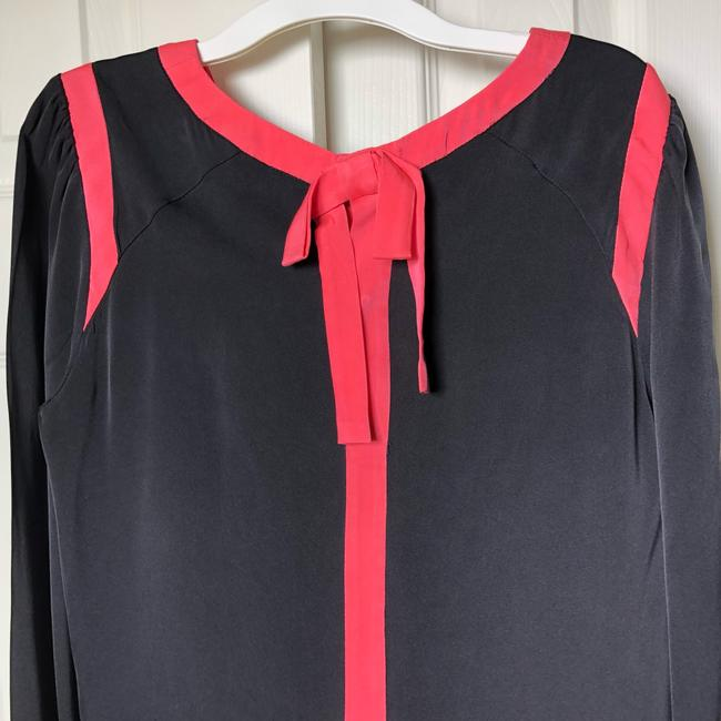 MILLY Top black and pinks
