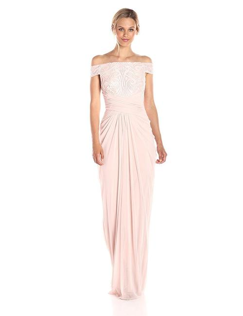 Preload https://img-static.tradesy.com/item/24797213/adrianna-papell-blush-women-s-off-shoulder-sequin-and-stretch-tulle-gown-long-formal-dress-size-2-xs-0-0-650-650.jpg