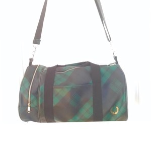 Fred Perry green black Travel Bag