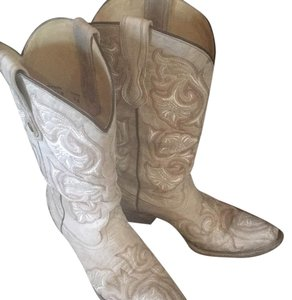 Corral Boots beige and cream Boots