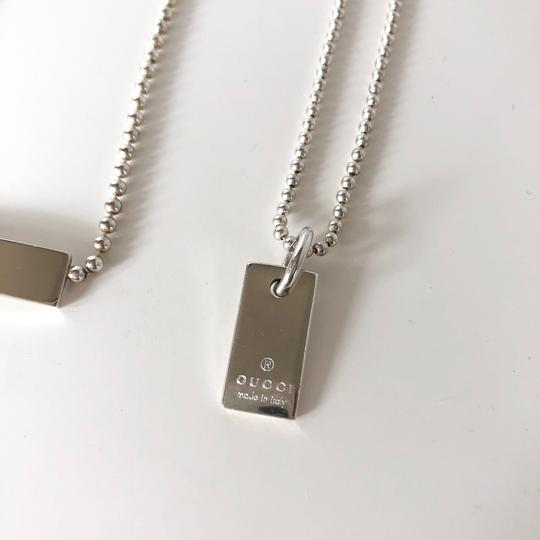 Gucci Gucci Bar Necklace and Bracelet Jewelry Set