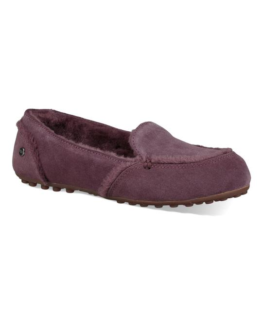 Item - Plum Box New In Port Hailey Suede Slippers Flats Size US 7 Regular (M, B)