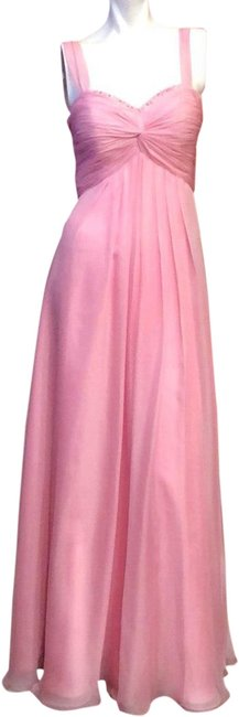 Item - Pink Couture #622 Chiffon Cocktail/Party/Formal Long Casual Maxi Dress Size 4 (S)