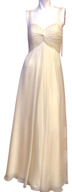 Item - Beige Couture #622 Chiffon Cocktail/Party /Formal Long Casual Maxi Dress Size 8 (M)