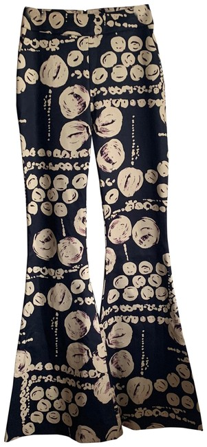 Preload https://img-static.tradesy.com/item/24797579/beaufille-black-and-cream-cyrus-printed-trouser-pants-size-4-s-27-0-1-650-650.jpg