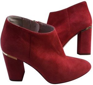Kate Spade Darota Suede Red Boots
