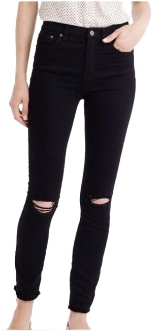 Item - Ripped Black Distressed Lookout High Rise Skinny Jeans Size 6 (S, 28)