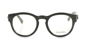781e97f980 Chanel Black Round Optical Glasses - Tradesy