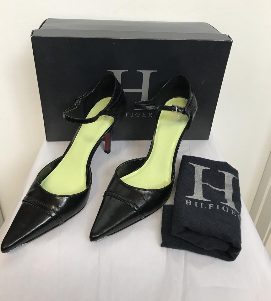 22608a8d Tommy Hilfiger Black Pointed Pumps Size US 8 Regular (M, B) - Tradesy