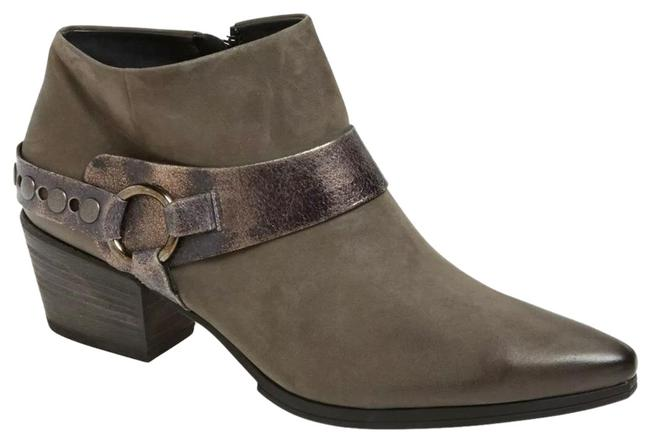 Item - Gray Nubuck Leather Foxie Boots/Booties Size US 6 Regular (M, B)